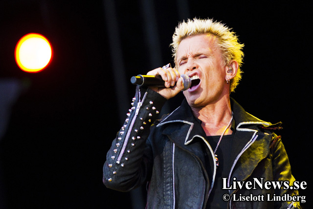 Billy Idol på Peace & love 2012_17