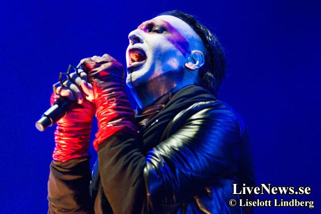 Rob Zombie och Marilyn Manson på Hovet