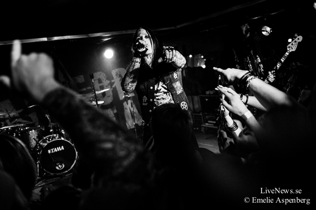 Hardcore Superstar på Zaragon Rock Club