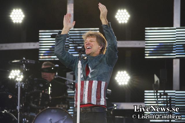 Bon Jovi rockar på Stadion