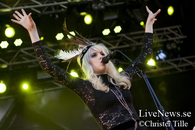 Amanda Jenssen på Kalmar stadsfest