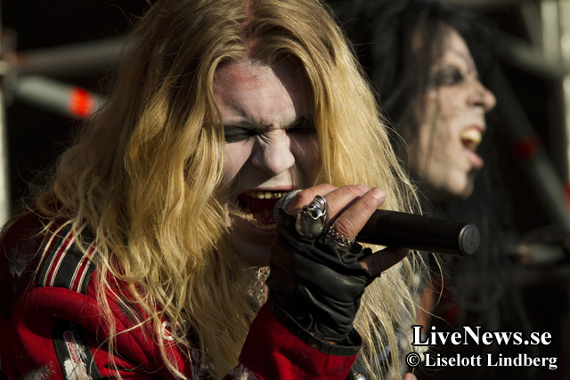 Fatal Smile på Väsby Rock Festival