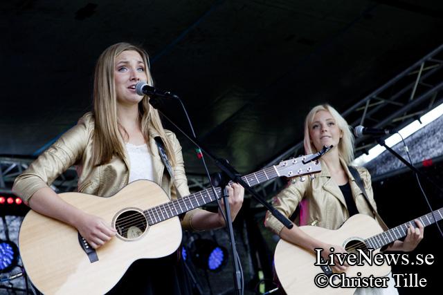 Ida & Elina på Lilla Rookie