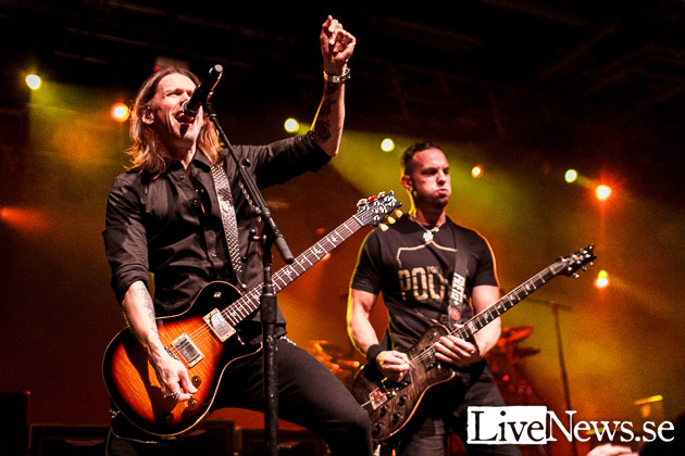 Alter Bridge & Halestorm på Arenan