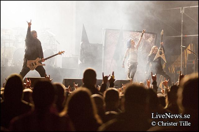 Arch Enemy på Sweden Rock