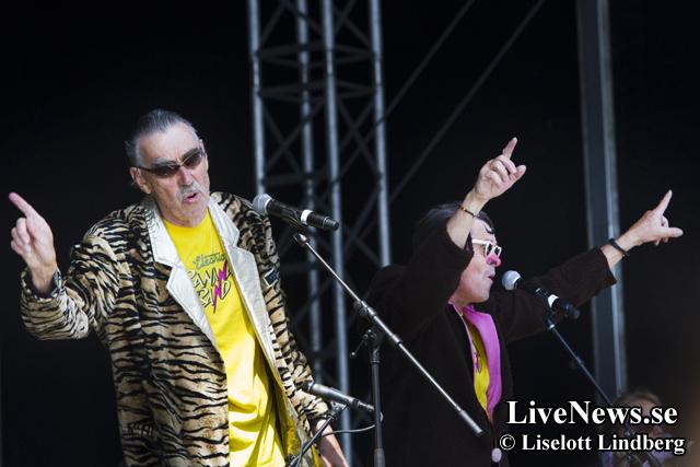 Electric Banana Band på Sweden Rock
