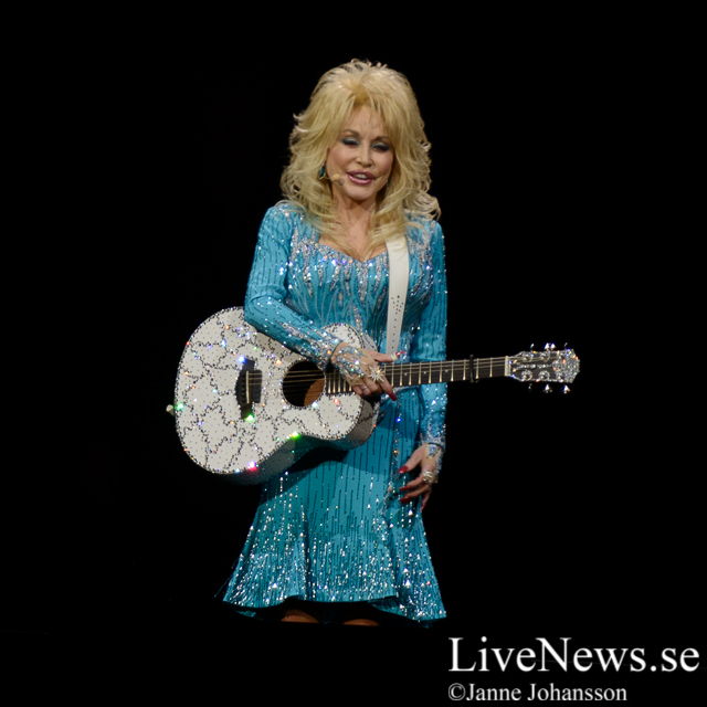 Dolly Parton på Ericsson Globe