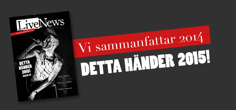 LiveNews 2014 – Tidningen!