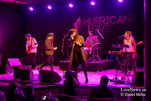 Hurricane Love på Where's the music?