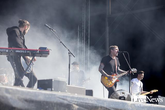 The Gaslight Anthem på Bråvalla.