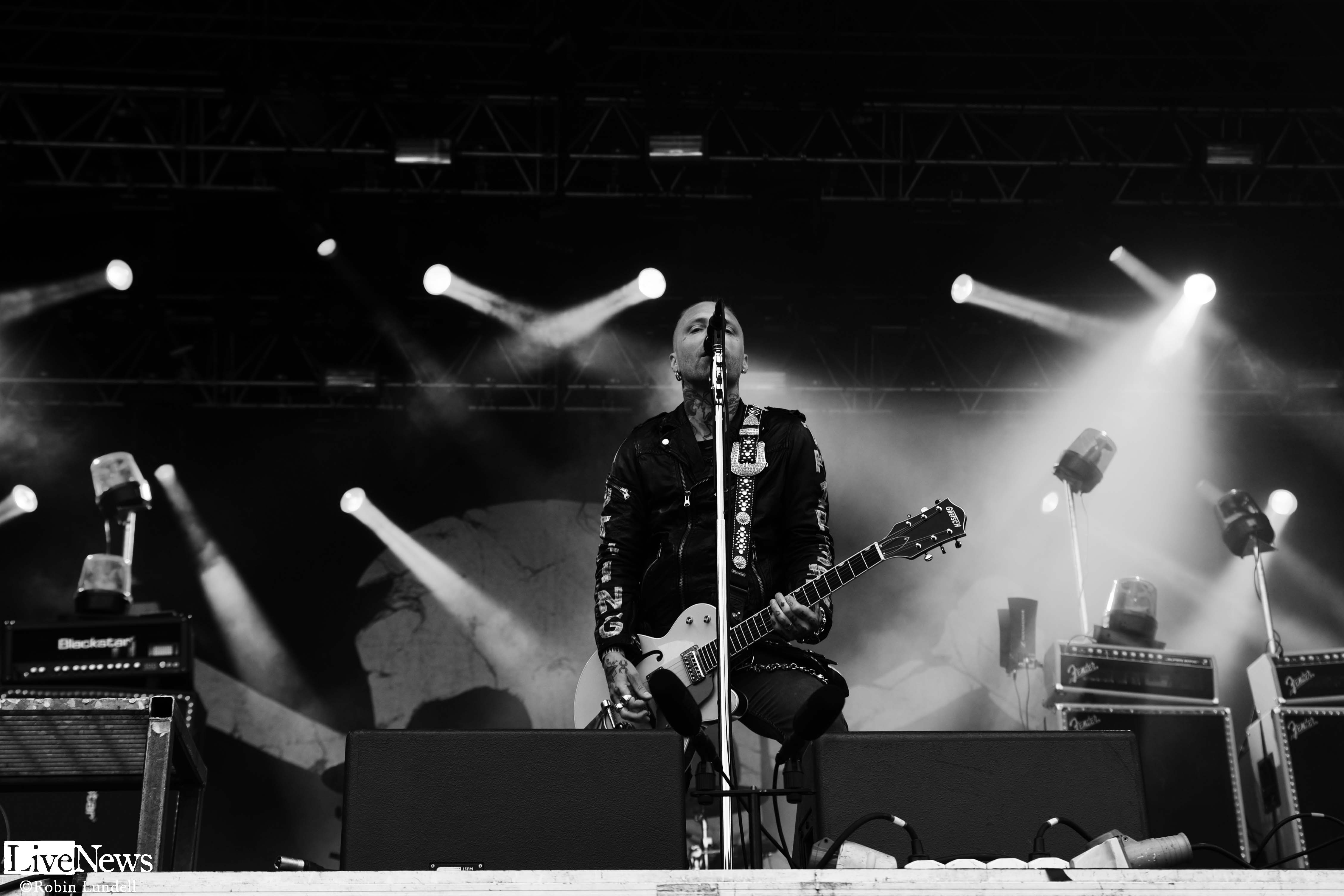 Backyard Babies På Getaway Rock
