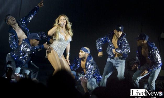 Mariah Carey på Ericsson Globe