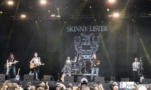 Skinny Lister på Bråvalla