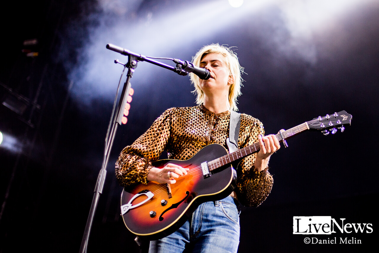 Anna Ternheim på Linköping Arena. Foto: Daniel Melin