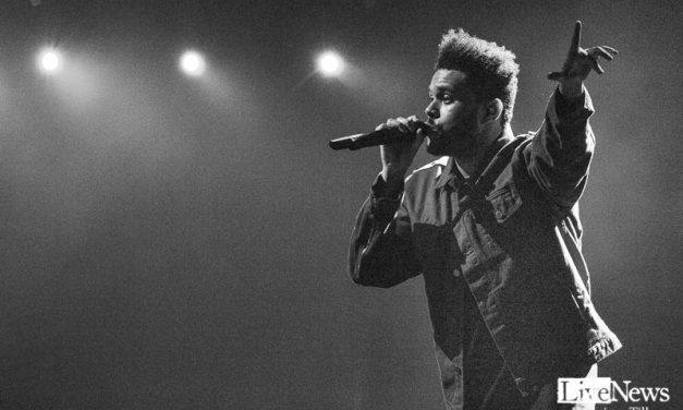 The Weeknd på Ericsson Globe