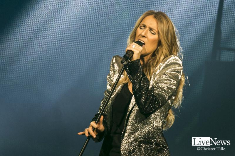 Céline Dion på Tele2 Arena