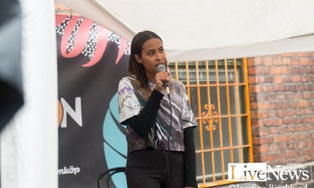 Amina Myrén på Location East