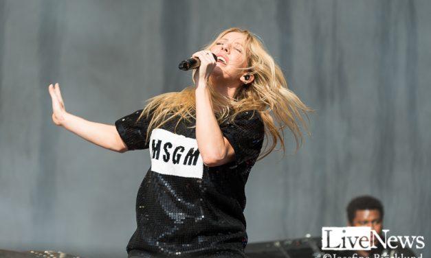 Ellie Goulding på Bråvalla
