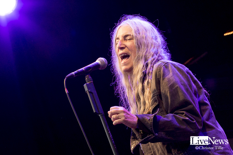 Patti Smith på Gröna Lund