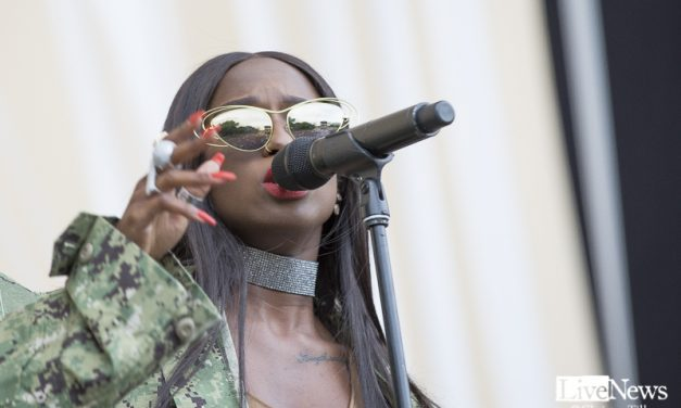 Sabina Ddumba på Popaganda