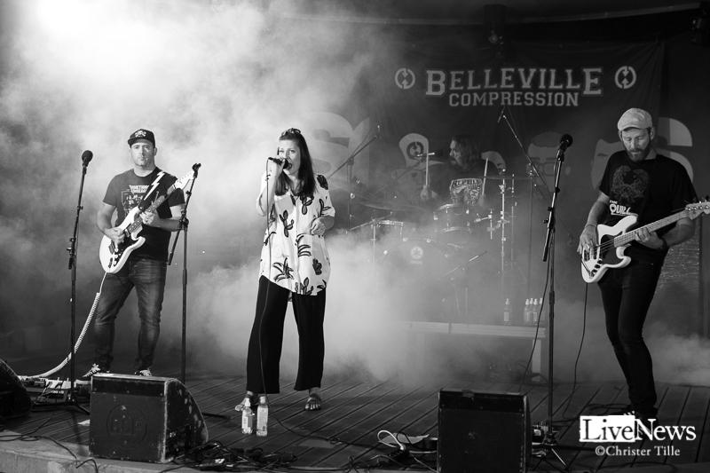 Belleville Compression på Oskarshamnsfesten