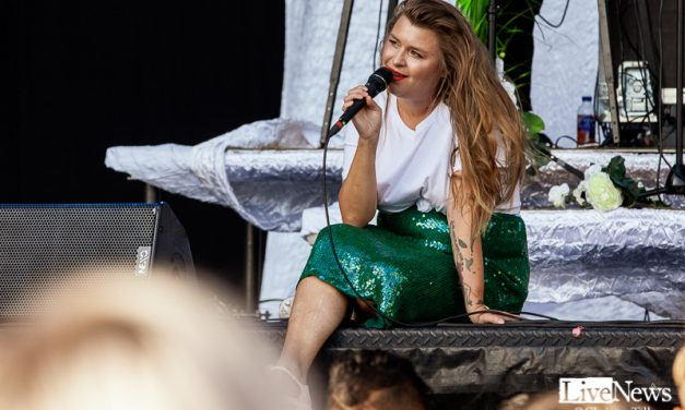 Linnea Henriksson på Kalmar Stadsfest
