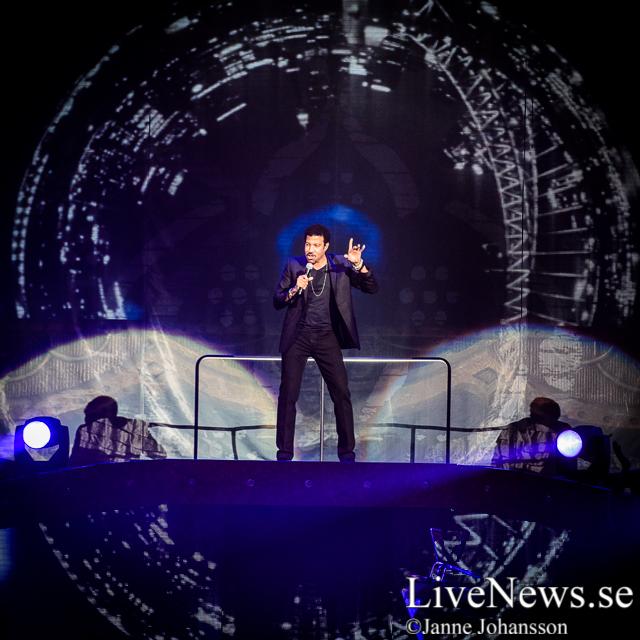 Lionel Richie på Globen