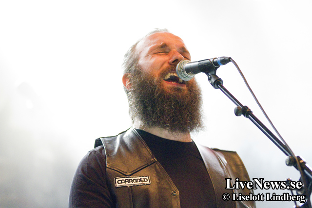 Corroded på Väsby Rock Festival