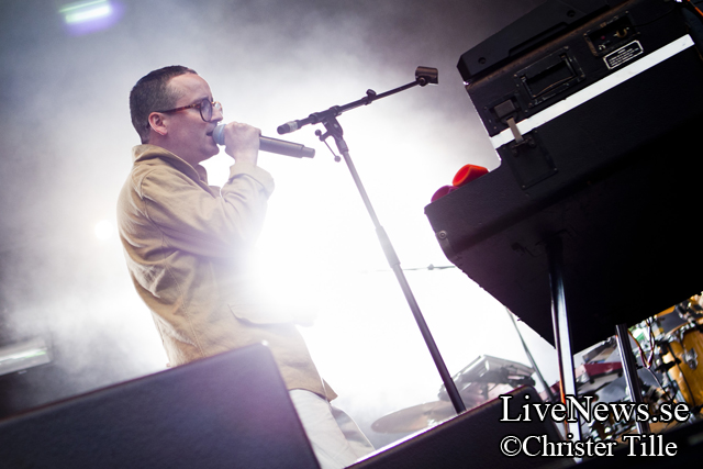 Hot Chip på Popaganda