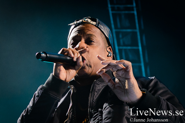 Jay-Z på Ericsson Globe