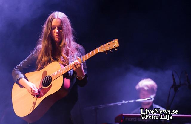 Melissa Horn i Kalmarsalen.