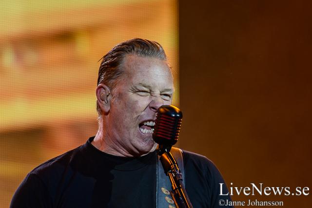 Metallica på STHLM Fields 2014
