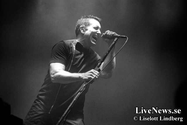 Nine Inch Nails på Hovet