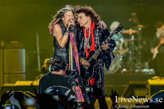 Aerosmith på Tele2 Arena