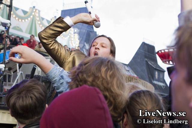 Arcade Fire på Gröna Lund