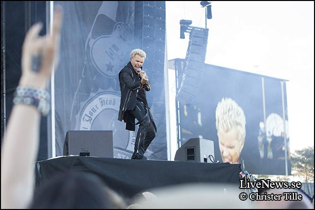 Billy Idol på Sweden Rock