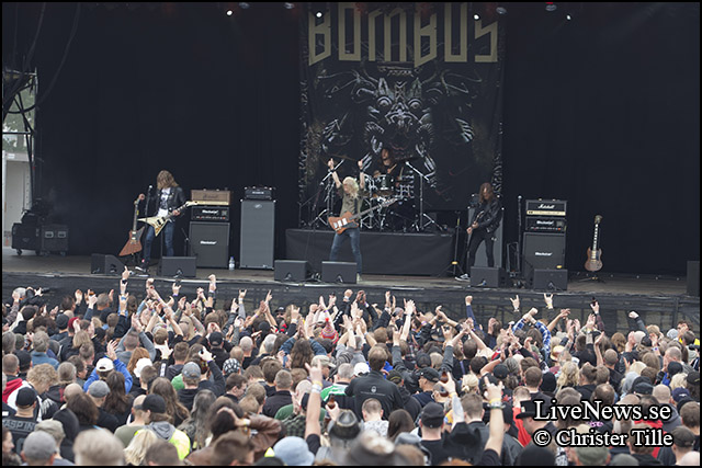 Bombus på Sweden Rock