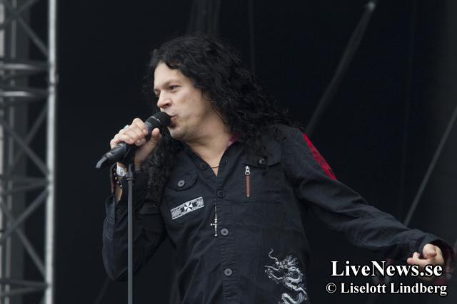 Jake Lee's Red Dragon Cartel på Sweden Rock
