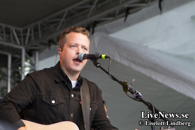 Jason Isabell på Rolling Rootsy Revue