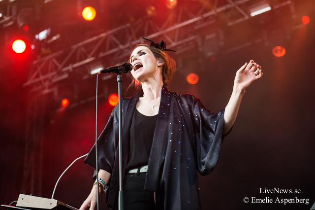 Nina Persson på Bråvalla