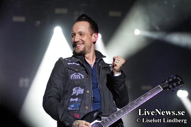 Volbeat på Sweden Rock