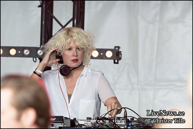 Heidi på Dans Dakar