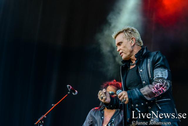 Billy Idol på Gröna Lund