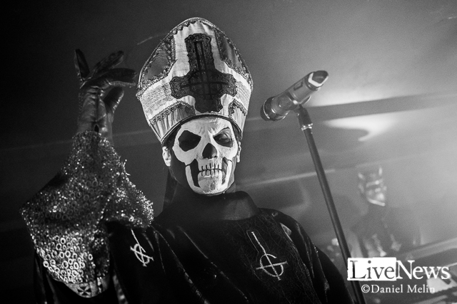Ghost på Doom. Foto: Daniel Melin