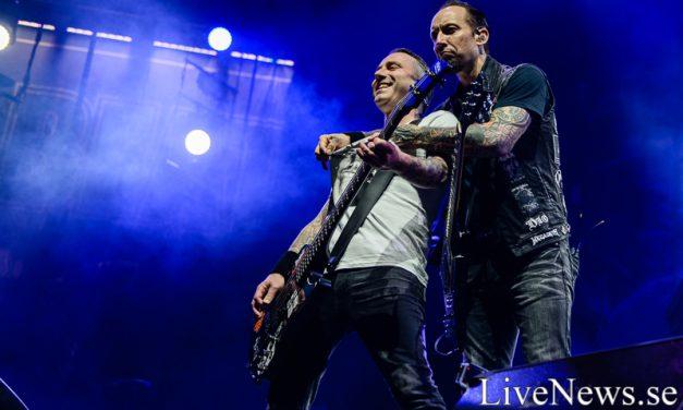 Volbeat på Scandinavium