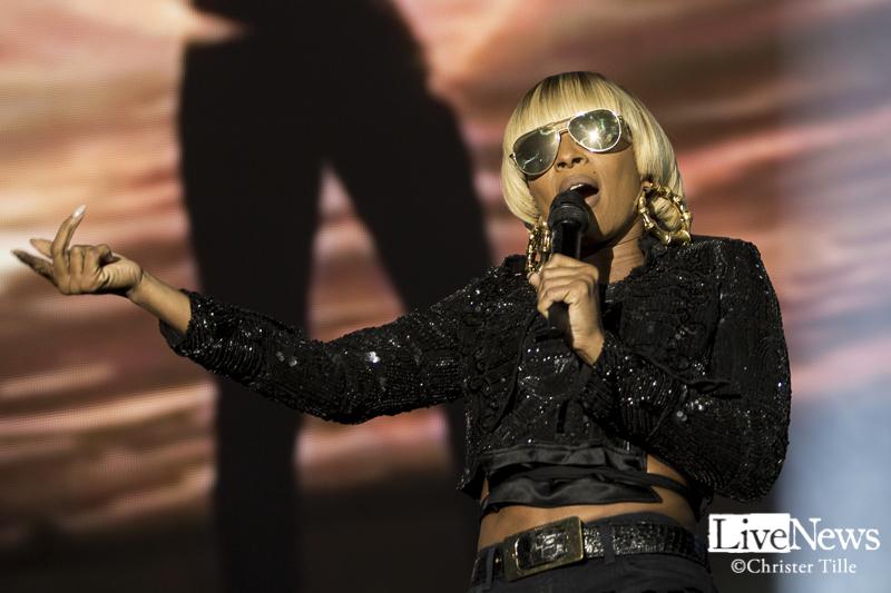 Mary J Blige & Maxwell på Annexet