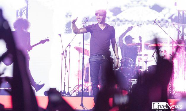 Enrique Iglesias på Ericsson Globe