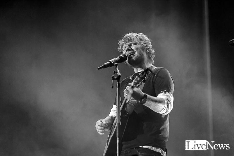 Ed Sheeran på Friends Arena