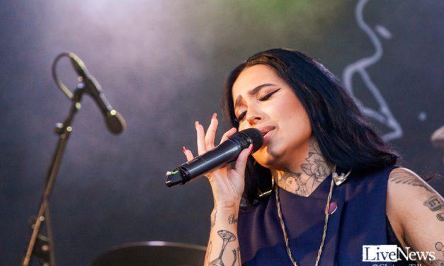 Shirin på Oskarshamnsfesten