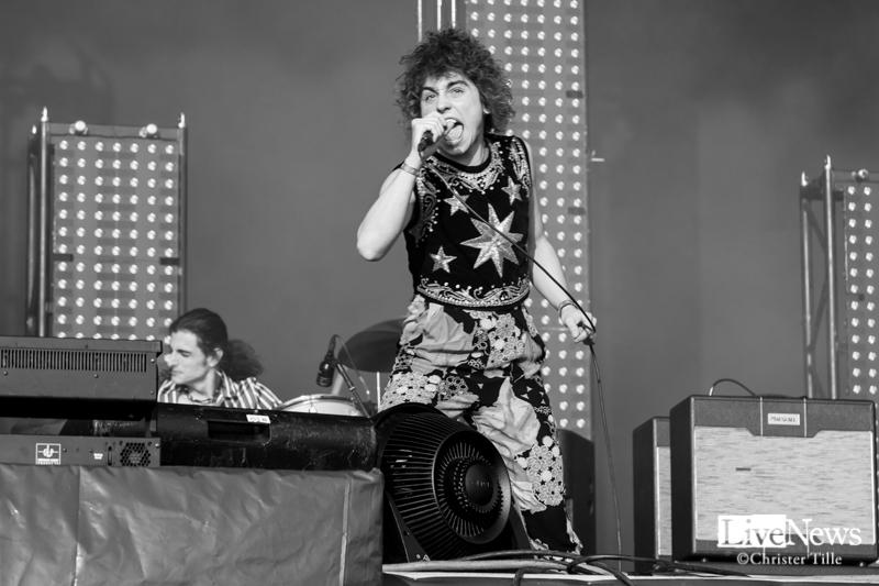 Greta Van Fleet på Lollapalooza